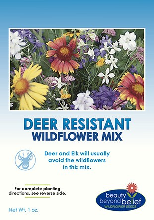 Deer Resistant Wildflower Mix