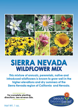 Sierra-Nevada Wildflower Mix
